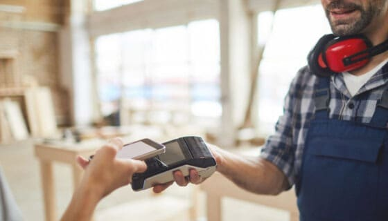 A traditional organisation making the move to taking card payments